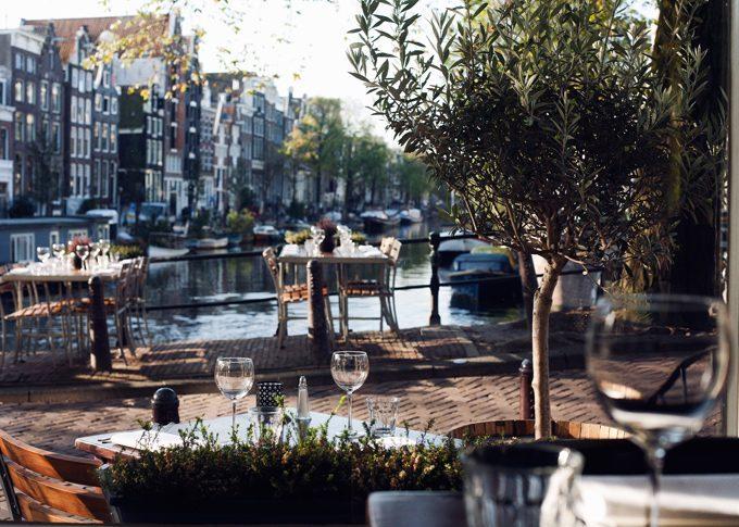 amsterdamse - grachten - restaurants - centrum - amsterdam - dineren - lunchen - ontbijten - grachtengordel