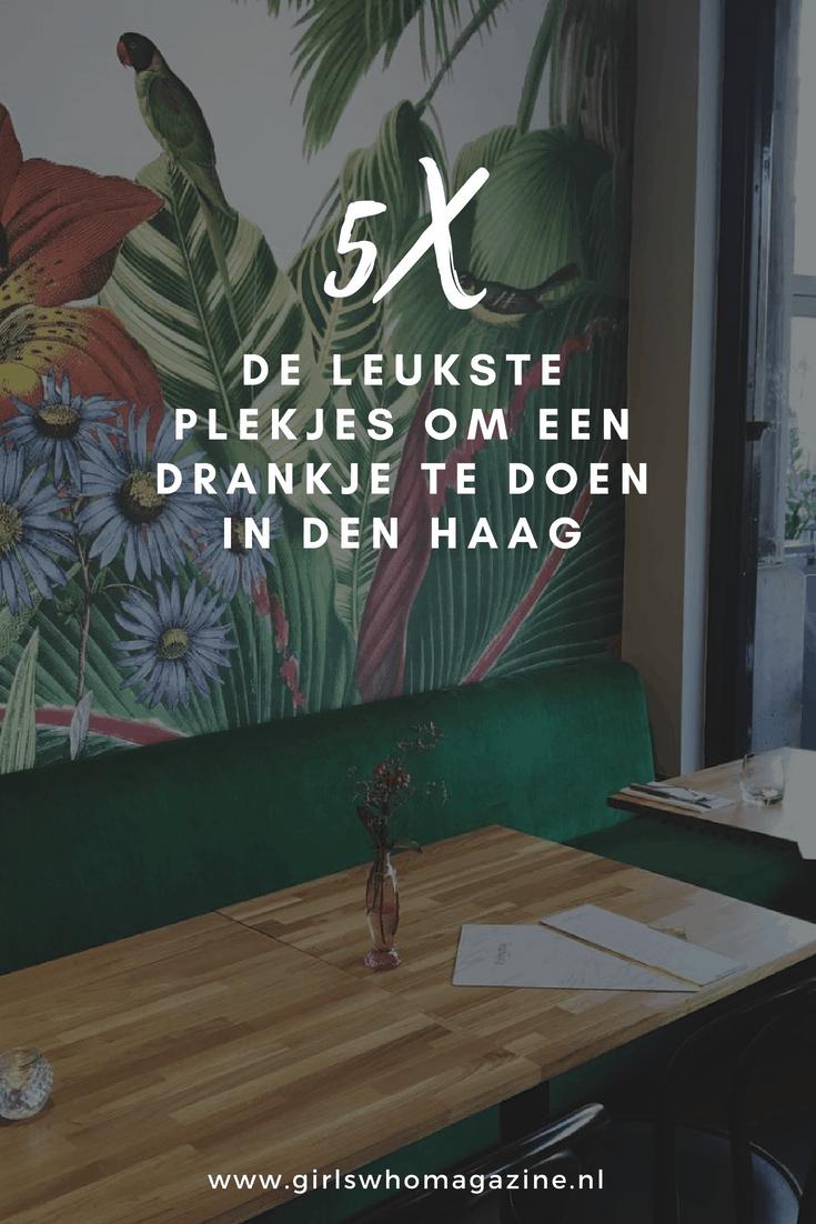 Drankje doen in Den Haag? Bij deze vijf spots moet je zijn! 5 X de leukste plekjes om een drankje te doen in Den Haag. Den Haag is een stad die de laatste jaren enorm is veranderd. Er zijn super leuke restaurants en kroegen bijgekomen. Wij maakte een lijst met de 5 X de leukste plekjes om een drankje te doen in Den Haag.