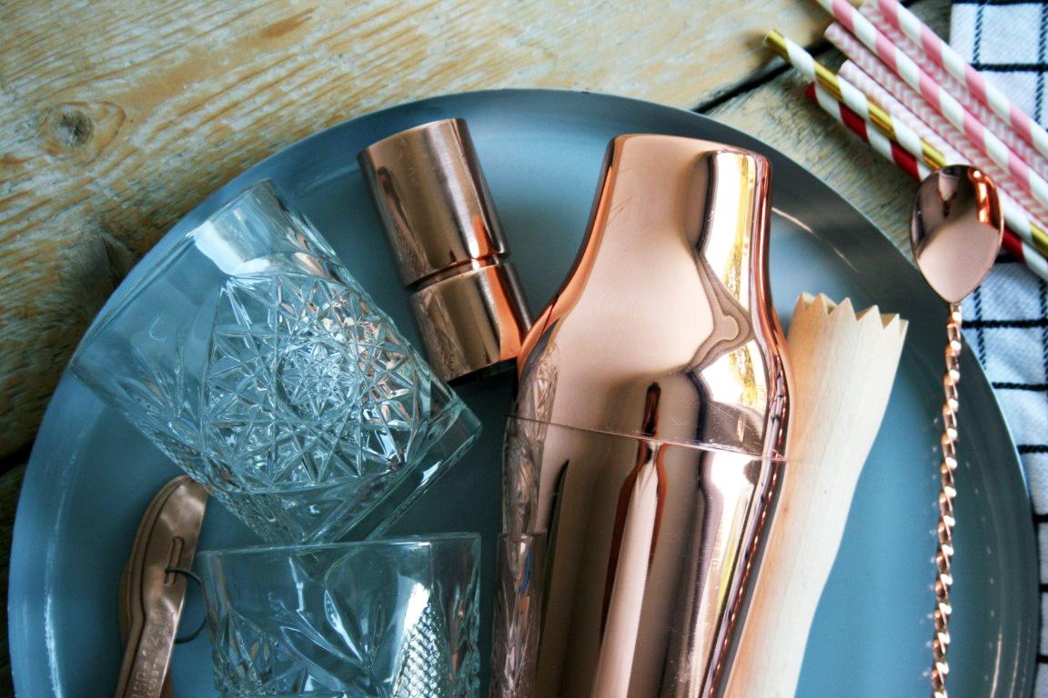 cocktail benodigdheden - cocktail shaker - bar tools kopen - cocktail set - thuis cocktails maken