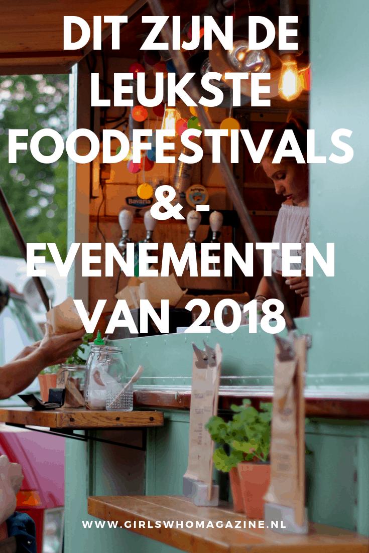Pak je culinaire agenda er maar gauw bij. Deze foodfestivals en food evenementen wil je absoluut niet missen als foodie. Welke ga jij bezoeken?