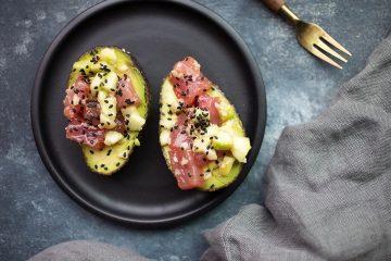 recept avocado - recept tonijn - poké bowl - poké bowls - gezonde recepten - makkelijke recepten -