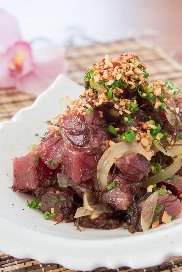 recept ahi tonijn