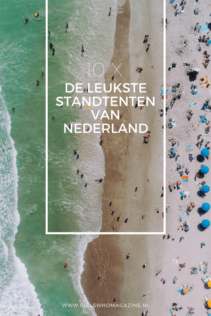 De leukste strandtenten van Nederland vind je hier. Waar ga jij altijd naar toe? #strandtent #strandnederland #dagjeuitstrand