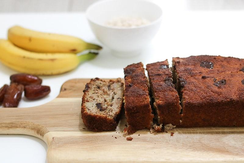 Banana bread. Bananenbrood. Pimp up that breakfast. Instagrammable breakfast