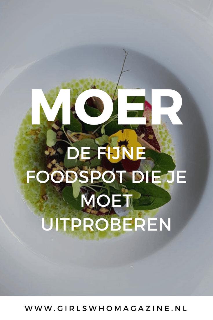 Moer in Amsterdam is een restaurant waar je moet zijn geweest en wij schreven er een review over