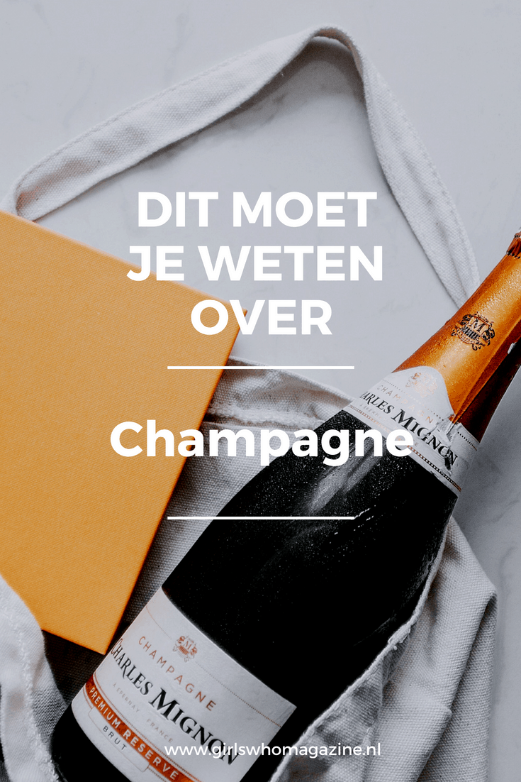 Dit moet je weten over Champagne #champagnetips #tipsvoorchampagne