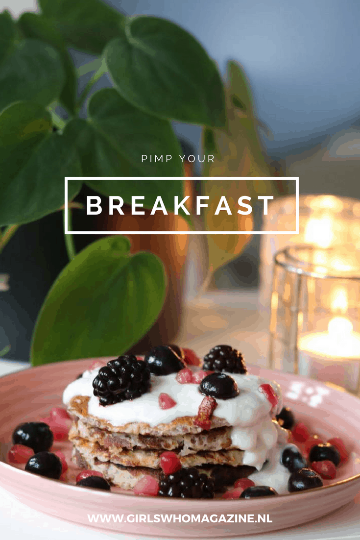 breakfast. ontbijt. Zo maak je het leukste ontbijt #ontbijttip #receptontbijt #pannenkoekenrecept #gezondontbijt. Instagrammable. Foto's maken eten.