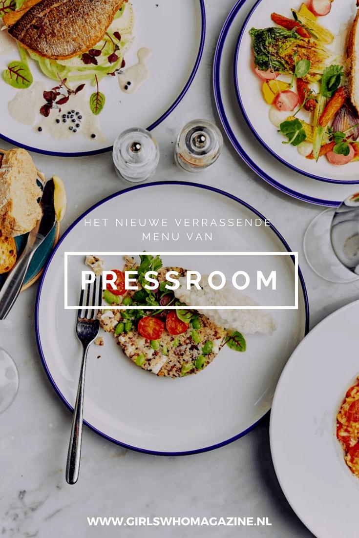 Pressroom Amsterdam heeft een nieuwe menu kaart met wel heel goed eten. #pressroomamsterdam #etenineenhotel