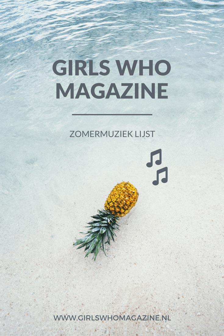 Muzieklijst met zomervibes. Zet deze lijst op en wordt heel blij #zomermuziek #muzieklijstzomer