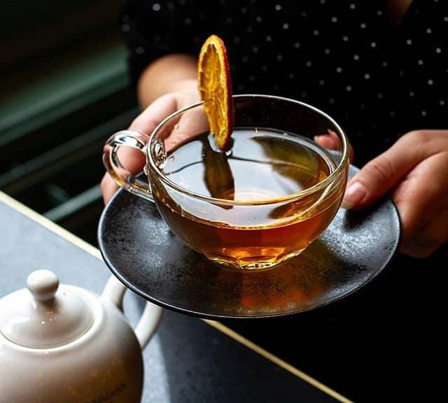 high tea americain