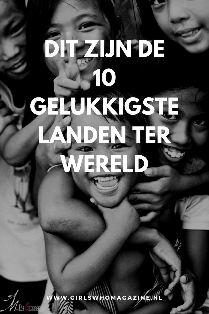 Zijn de mensen in het land waar jij woont gelukkig? Kom er achter in welke landen de gelukkigste mensen wonen!