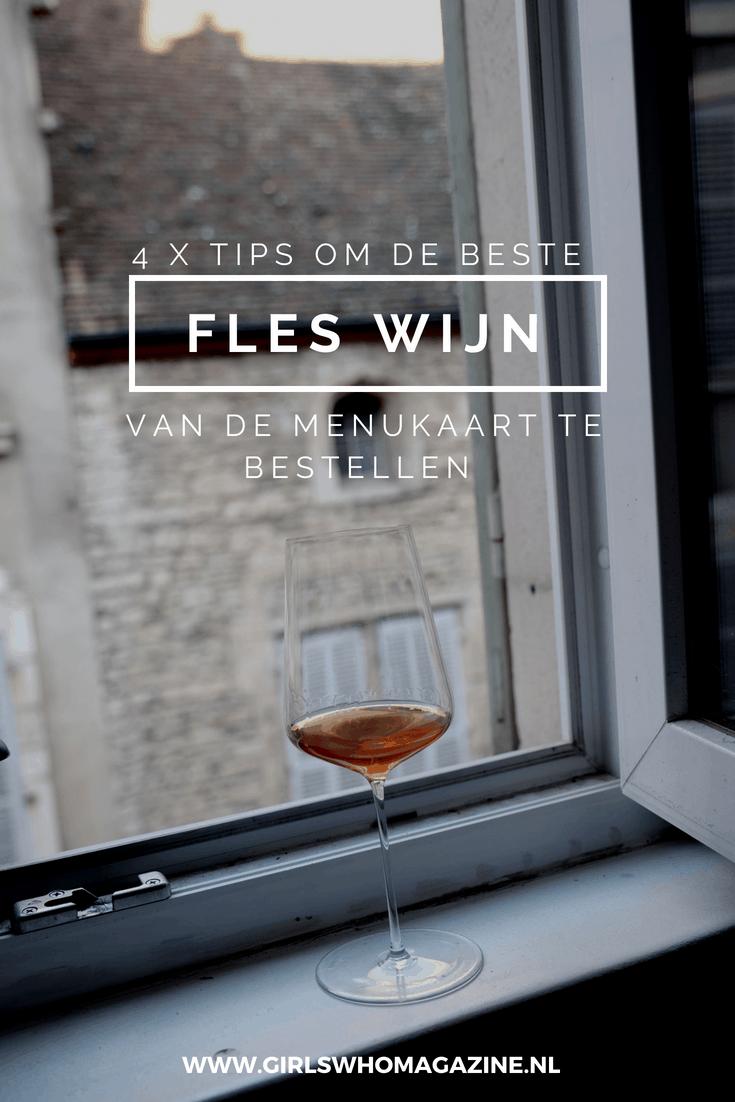 Zo bestel je altijd een goede fles wijn in een restaurant. Dit zijn 4 tips! #wijnbestellen #wijn #wijnkaart