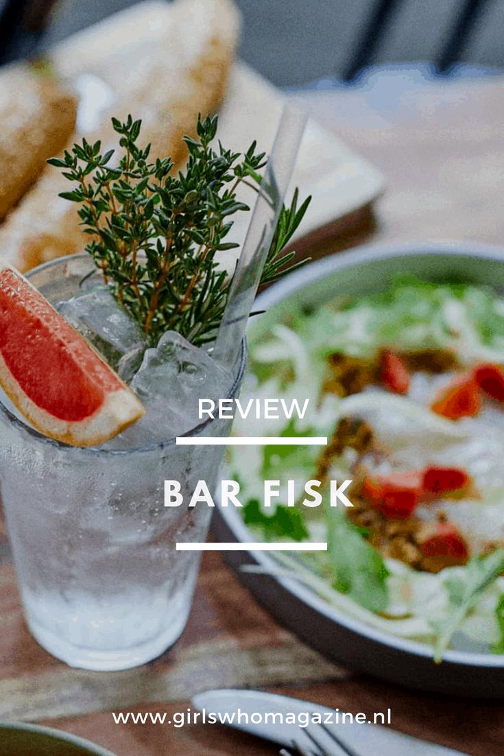 Bar Fisk in Amsterdam is een plekje om heerlijk te genieten samen met je vriendinnen. Heerlijke limondas, salades en gezonde gerechten #basfiskamsterdam #amsterdam