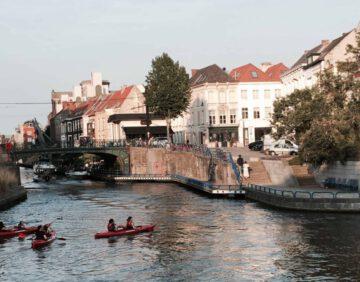 steden belgie - roadtrip belgie - leuke steden belgie - milieusticker belgie