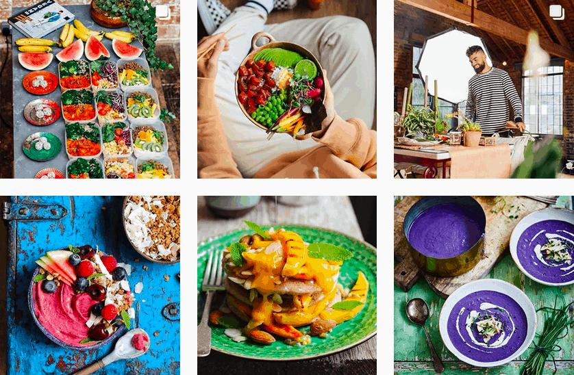 gezond eten door social media