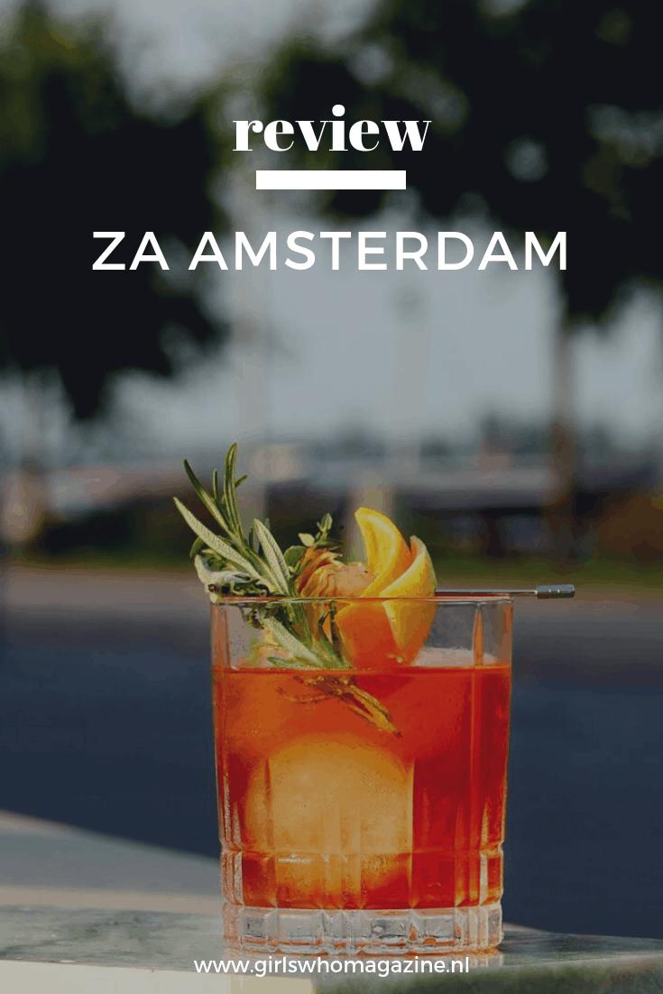 Ben jij bij ZA Amsterdam geweest? Dit is de nieuwe spot in Amsterdam die je moet ontdekken. ZA Amsterdam biedt de lekkerste cocktails, goed eten en heerlijk om te borrelen