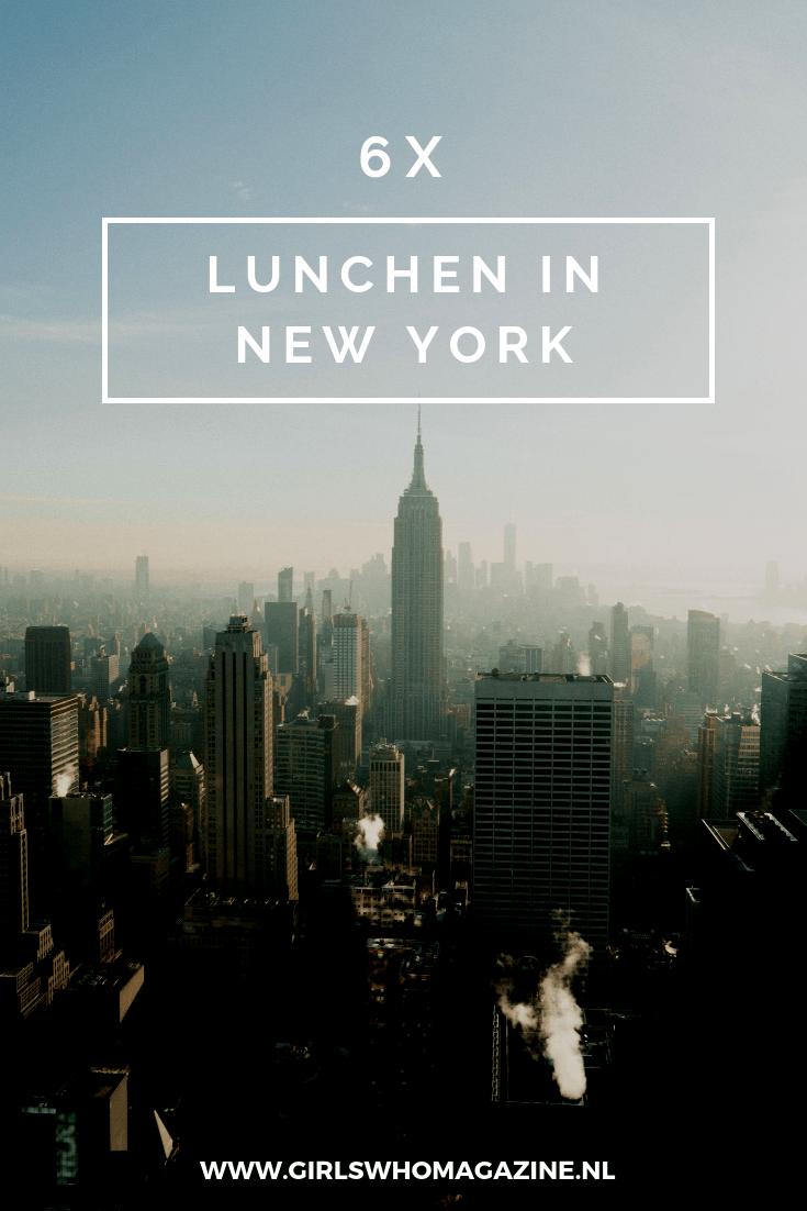 Er is geen stad in de wereld die jouw hart zo kan stelen zoals New York City dat kan. Je wordt spontaan gelukkig wanneer je deze wereldstad binnenkomt en de skyline van New York ziet. Zodra je bij Times Square komt, begint je hart sneller te kloppen en geniet je in volle tuigen van de stad die nooit slaapt. Welkom in New York City! Bovendien zal je nooit zoveel restaurants vinden in een stad als in New York. Of je nu kiest voor Aziatisch, Italiaans, Mexicaans, Frans, Portugees, en ga zo maar door, je zult het er allemaal vinden. Girls Who ging op pad en zocht naar de leukste plekken om te lunchen. Easy Peasy! LUNCHEN IN NEW YORK. LUNCHTIPS NEW YORK. LUNCHEN NEW YORK. Lunch hotspots in New York