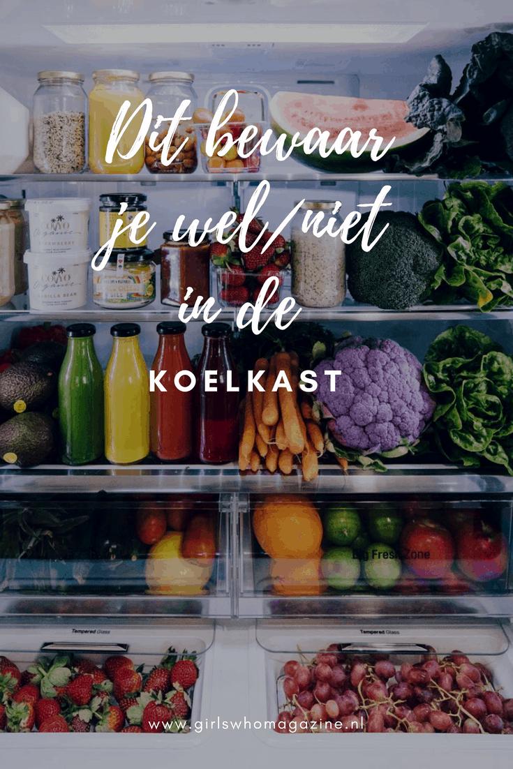 Wat moet je wel en niet bewaren in de koelkast. Wij geven je een snel overzicht #bearenindekoelkast #gezondeten