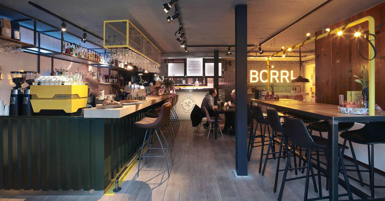 BORRL kitchen. Borrelen in Amsterdam. Gezellig dineren in Amsterdam. LEuk restaurant Amsterdam Oost. Tips Amsterdam Oost. Lunchen in Amsterdam. Lunchtips Amsterdam
