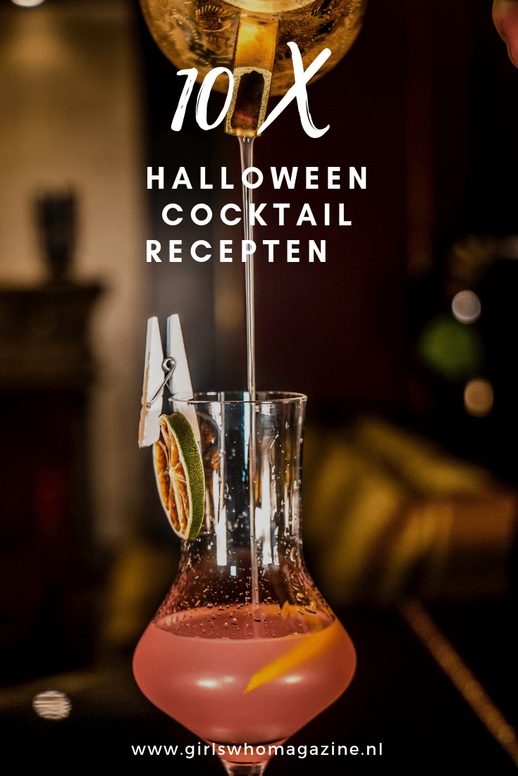 Het is bijna Halloween! Om deze feestdag in stijl te vieren hebben wij 10 heerlijke Halloween cocktail recepten voor jullie onder elkaar gezet. Met welk Halloween drankje ga jij aan de slag?