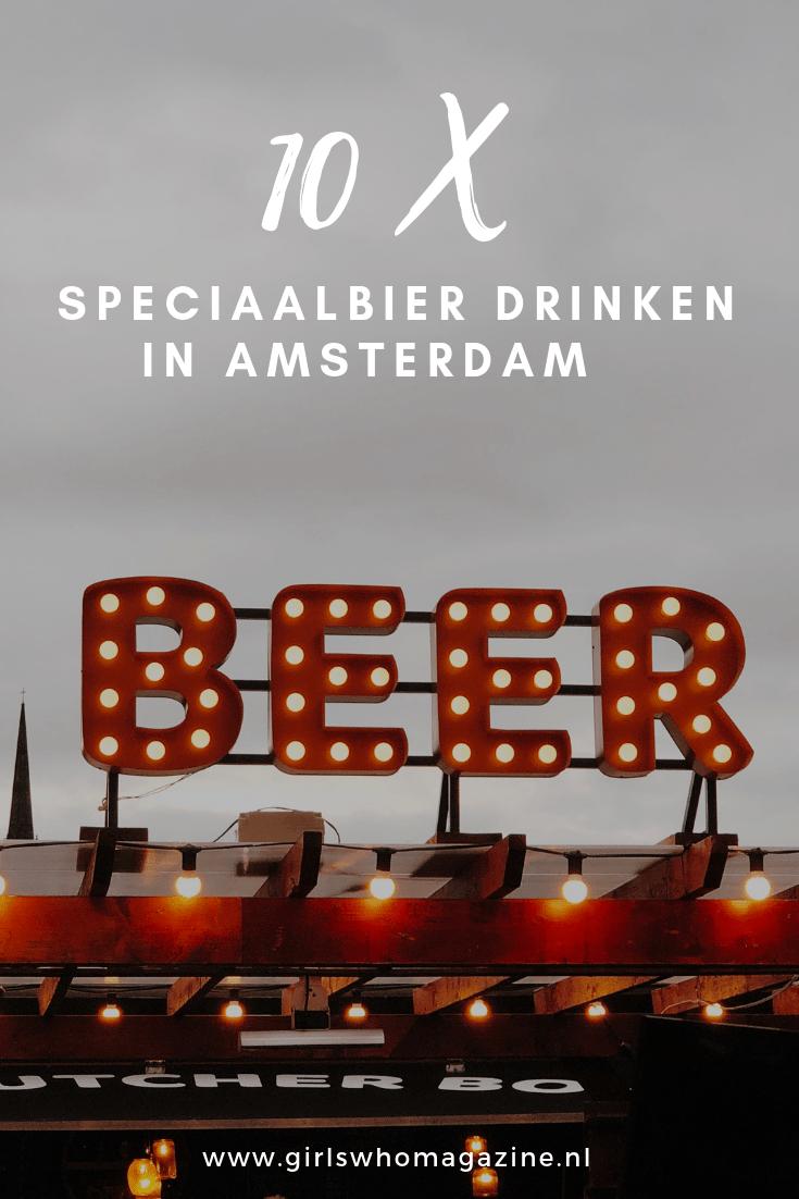 Van nostalgische proeflokalen tot ruim bevoorraadde biercafés: de Amsterdamse bierwereld is inmiddels lekker verzadigd. Gelukkig maar, want speciaalbier drinken is populairder dan ooit en om ook jullie aan een speciaalbiertje te krijgen, hebben een aantal leuk cafés onder elkaar gezet met een uitgebreide bierkaart. Dat wordt met de taxi naar huis!