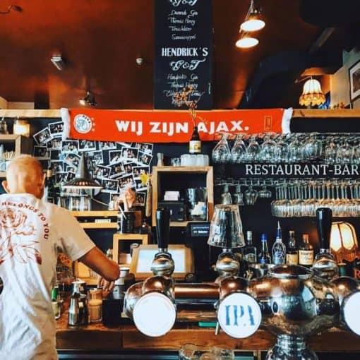 Ajax kijken in Amsterdam - ajax op groot scherm - ajax tegen tottenham kijken - plekken om voetbal te kijken - voetbal op groot scherm - de halve finale - chmpions league