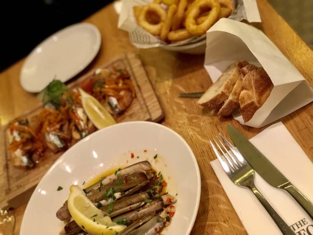visrestaurants amsterdam - seafood bar