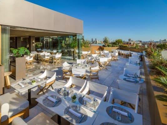 bijzondere terrassen in europa - dakterrassen europa - rooftop terras - fijne terrassen - terrassen in de zon - fijne terrassen in barcelona