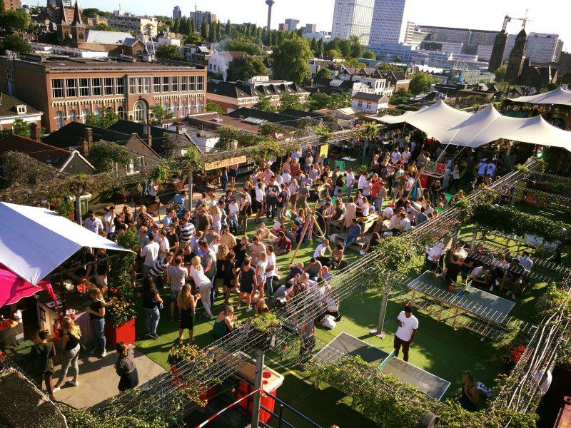 rooftop bar - dakterras - tips - Nederland
