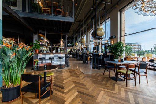 restaurant karaat amsterda - hotspots in de houthavens - karaat houthavens