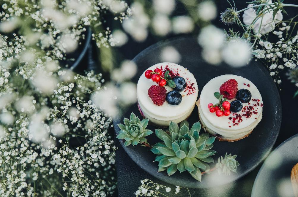 samen taart maken - vegan taart recept