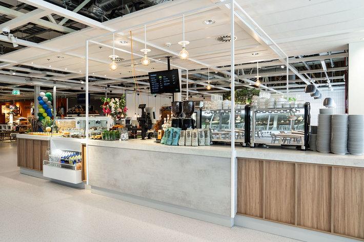 ikea amsterdam - ikea coffee bar - flexwerken in asterdam - goedkope koffie in amsterdam - lekkere koffie in amsterdam - Ikea Coffee Bar