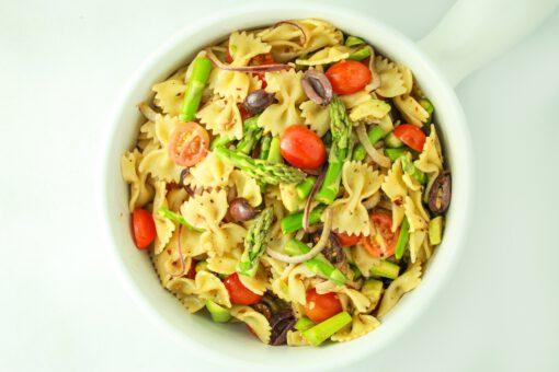 pastasalade - vegan gerechten - vegan recepten - veganistische gerechten - veganistische recepten - vegan