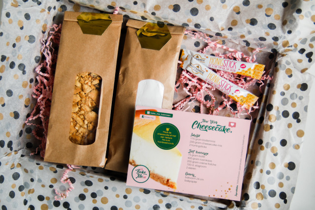 cadeaus door de brievenbus - bakmixen bestellen - taart bestellen - baxmix door de brievenbus - originele kerstcadeaus - cadeaus voor haar