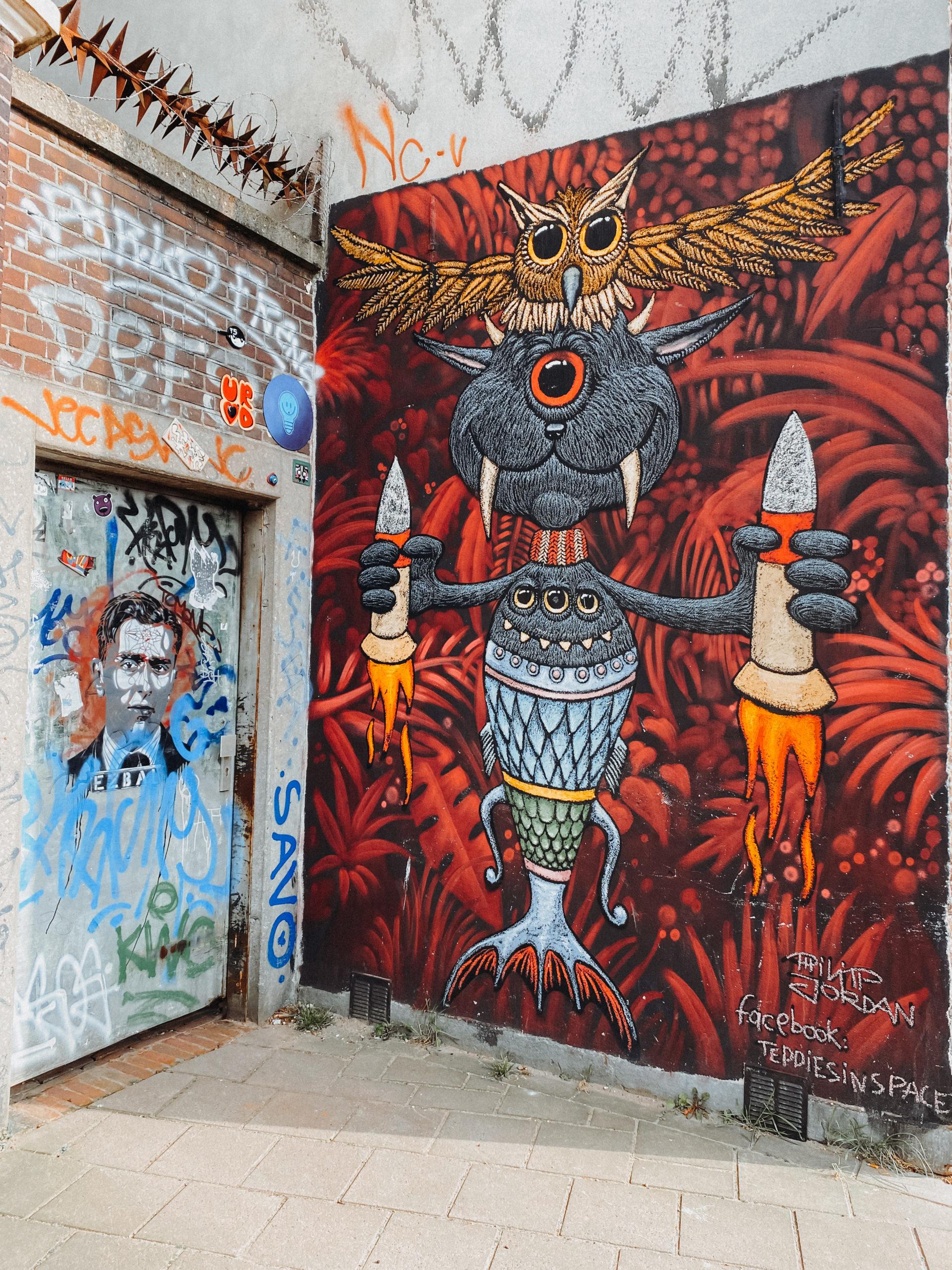 street art speurtocht utrecht - street art utrecht - graffiti utrecht - activiteit utrecht - wat te doen in utrecht