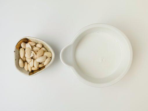amandelmelk maken - amandelmelk - amandelmelk recept - lactosevrije melk - amandelmelk recepten