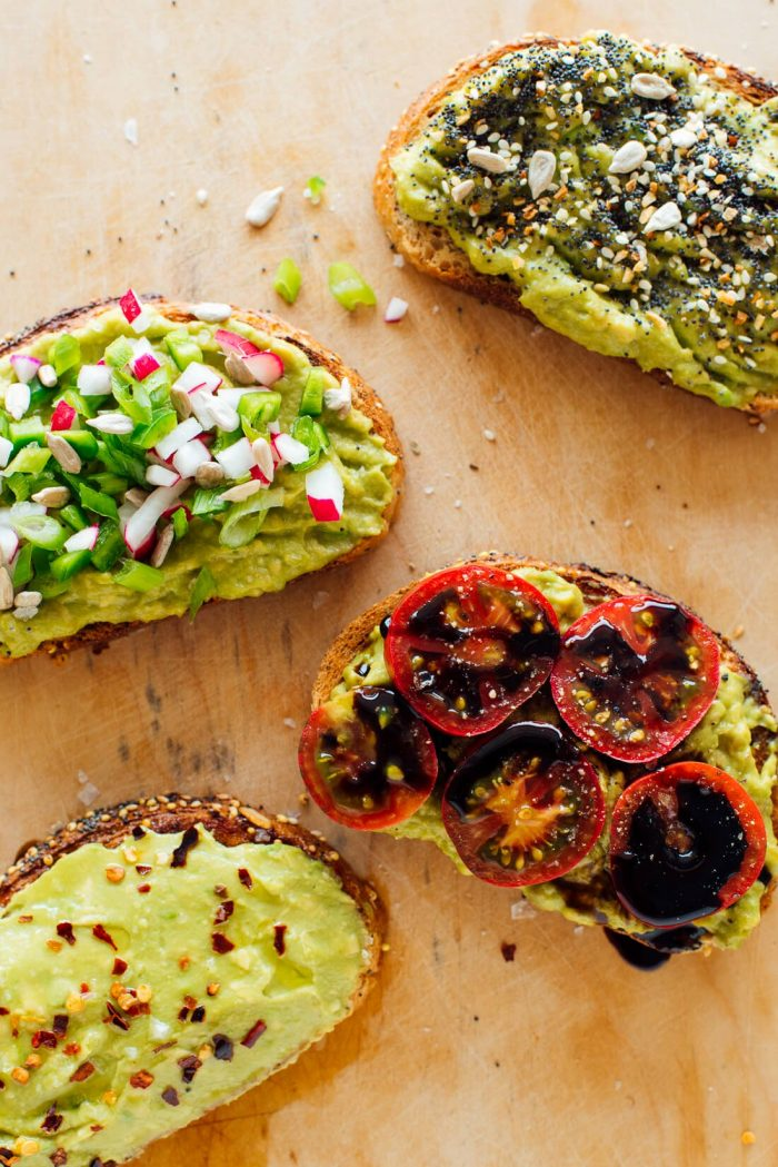 avocado ontbijt - avocado toast - avocado recepten - avocado gerechten
