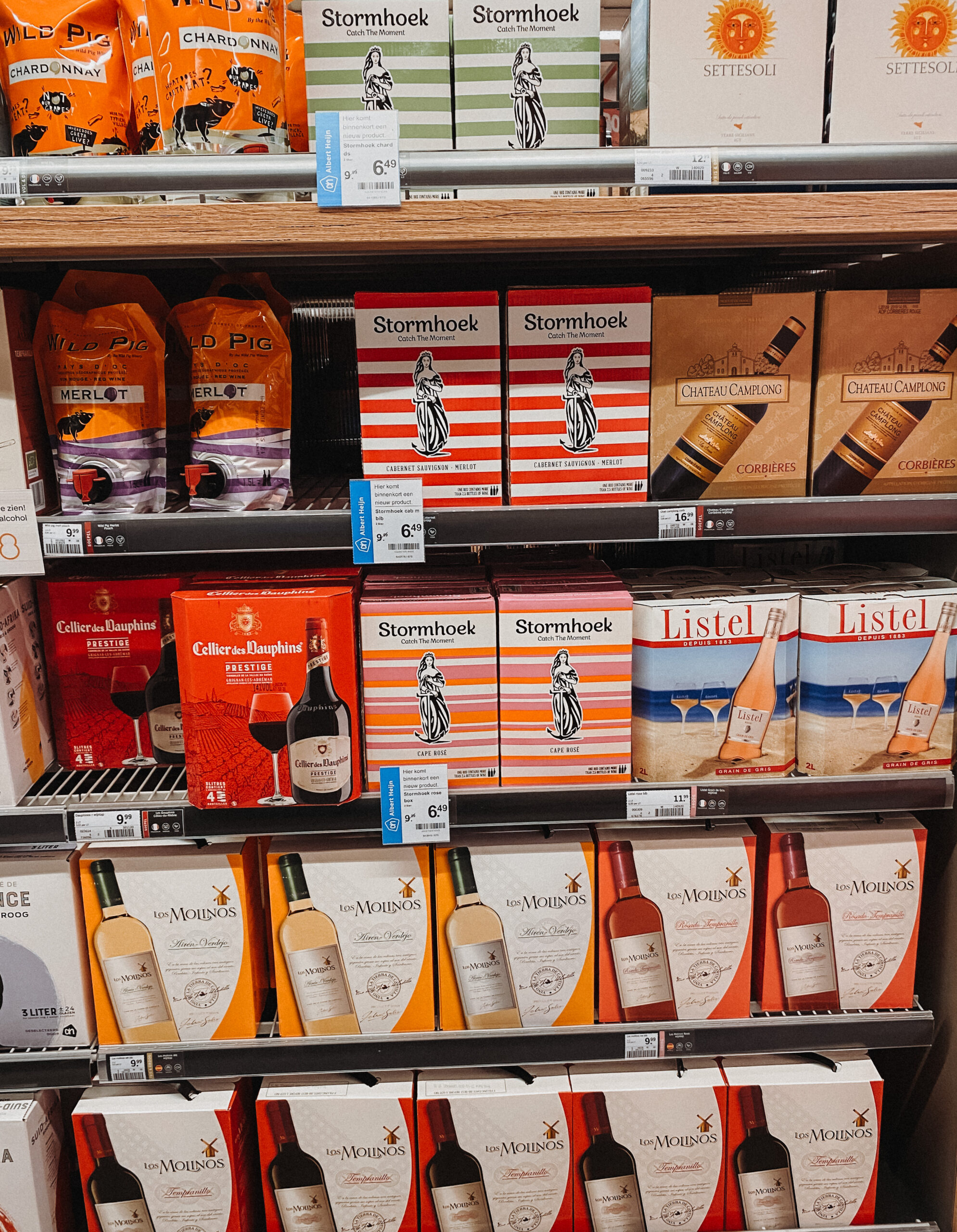 bag in box wijnen ah - pakwijnen ah - ah wijnbox