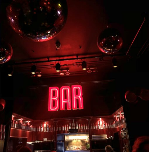bar rouge amsterdam - dinner show amsterdam - sushi amsterdam - thijs bouma