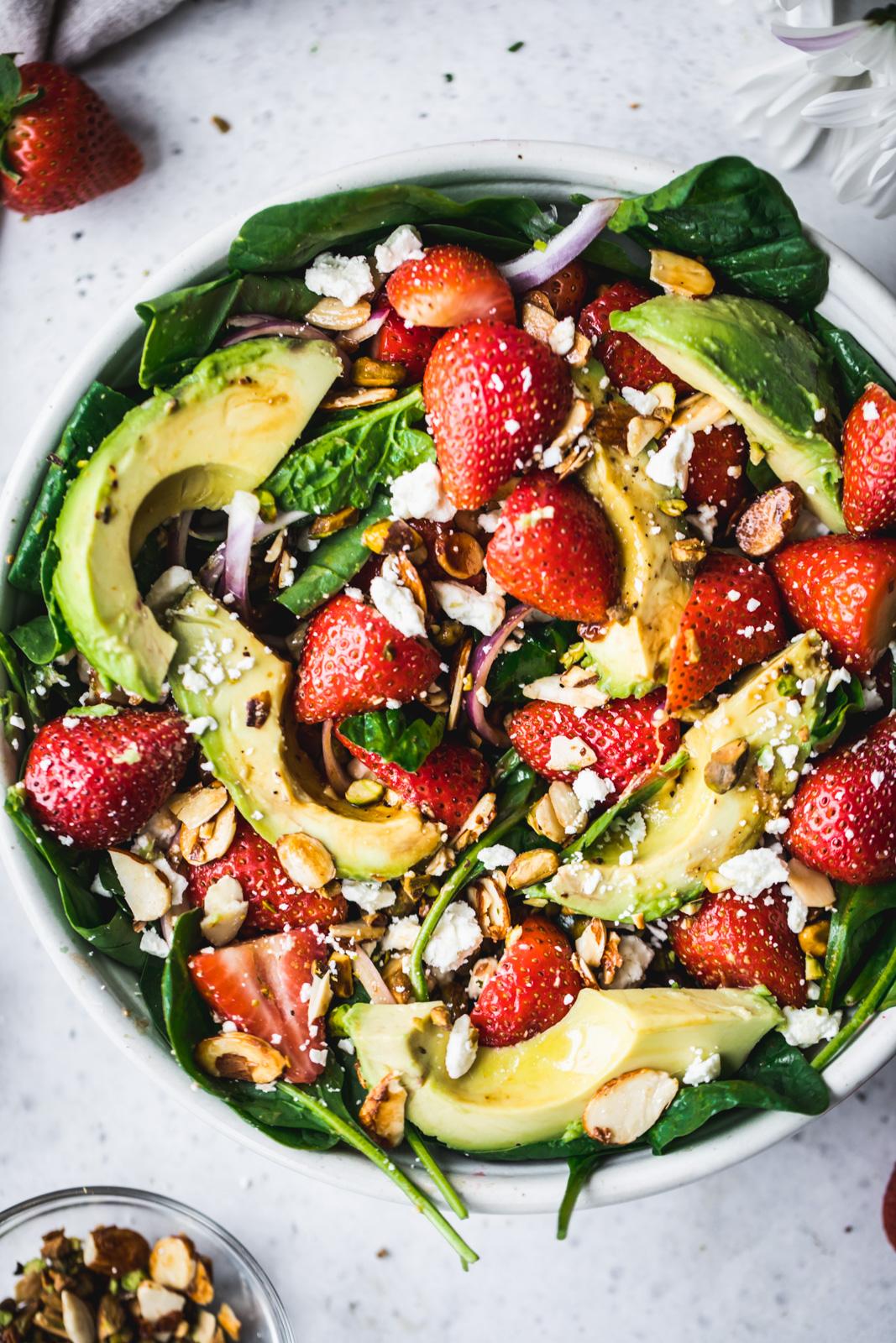 zomerse salade voor bij de bbq // salade bbq // frisse salade recepten