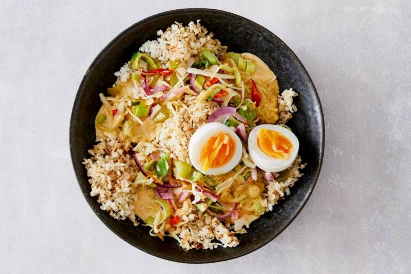 recepten bloemkoolrijst - bloemkoolrijst - gerechten bloemkoolrijst - rijst van bloemkool