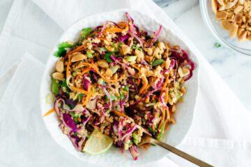 buddha bowl recept - buddha bowl recepten - gezonde - makkelijke - vegan - veganistische gerechten - quinoa - noten - pinda - vegetarische buddha bowl - vegetarische recepten - vega gerechten
