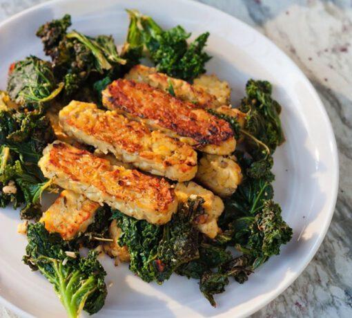 tempeh recept - tempeh recepten - vegetarische recepten - vega recept - vegan gerechten - veganistische recepten