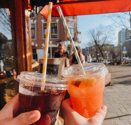 sangria - drankjes - weekend tips amsterdam - wat te doen in amsterdam - coronaproof activiteiten amsterdam