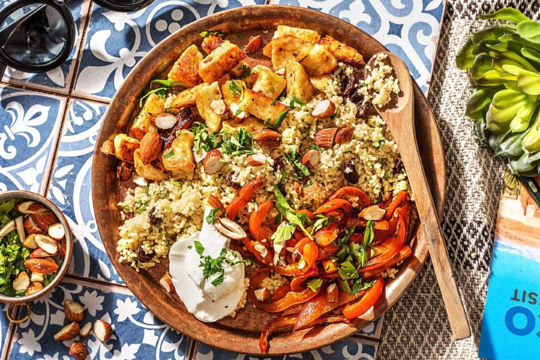 recept couscous met halloumi