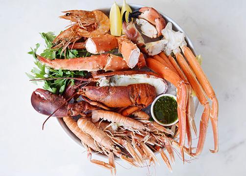 valentijnsmenu bestellen - the seafood bar - fruit de mer