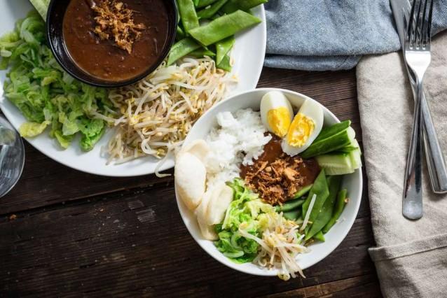 gado gado recept - makkelijke gado gado - gado gado soep - gado gado salade - recept gado gado - gado gado gezond