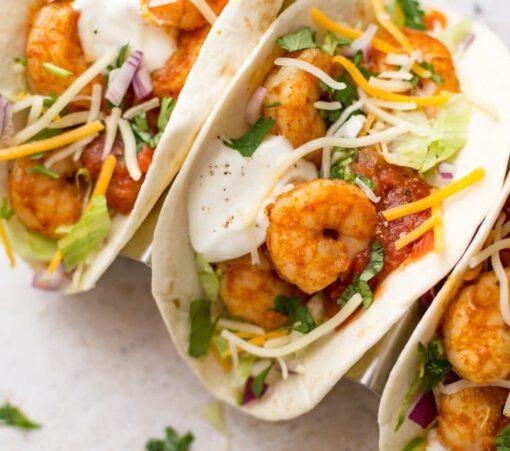 garnalen taco recept - garnalen taco - taco's met garnalen - taco met vis - taco's met vis - garnalen recept - garnalen recepten - vis taco's