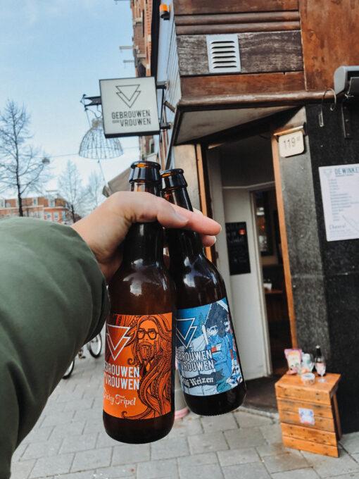 wandelroute amsterdam west- hotspots jp heije straat - gebrouwen door vrouwen biertjes