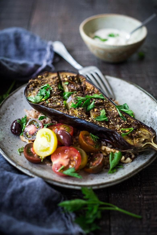 aubergine recept - aubergines - aubergine gerechten - gezonde recepten - makkelijke recepten - gezond eten - aubergine eten